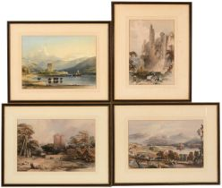 After W L Leitch and three others - Lithographs