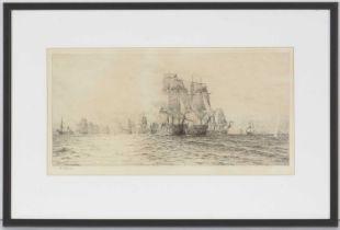 William Lionell Wyllie - etching