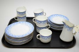 A Royal Worcester part tea service