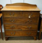 Mahogany chest of drawers, late 19th/Early 20th Century.