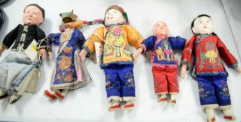 Selection of Chinese dolls