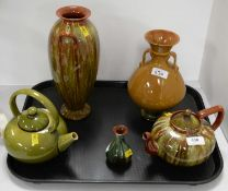 Collection of Linthorpe ceramics