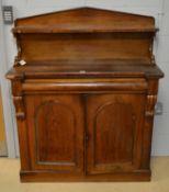 Victorian rosewood chiffonier.