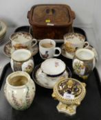 Selection of ceramics including Royal Worcester