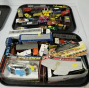 Selection of die-cast model vehicles