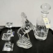 Glassware including Waterford and Villeroy & Boch