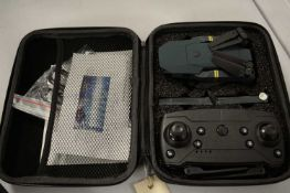 A cased drone