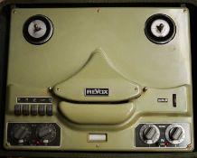 Revox F36 reel-to-reel valve tape recorder.