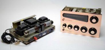 A Pye Mozart 1 pre-amplifier, 1 HFS 20 power amplifier, Pye HFT 108 tuner.