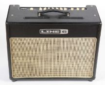 A Line 6 Flextone III modellng Guitar amplifier