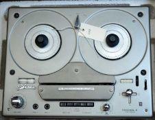 Tandberg Model 6 two-track reel-to-reel valve tape recorder.
