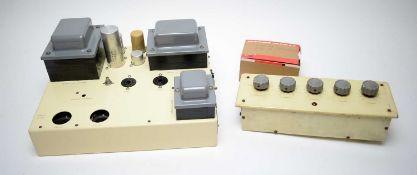 Pye PF91 mono amplifier (for restoration).