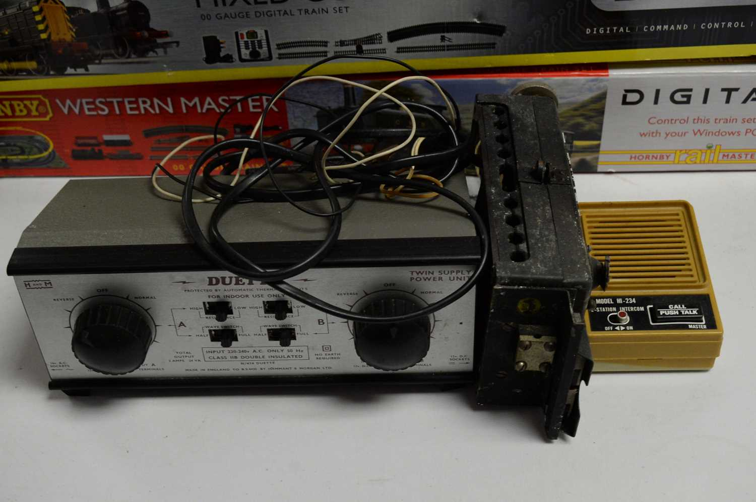 Three boxed Hornby 00-gauge trains sets, and other items. - Image 3 of 3