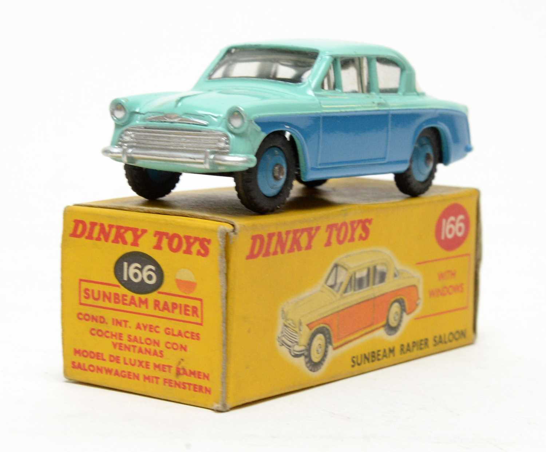 Dinky Toys Sunbeam Rapier saloon,