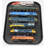 Seven unboxed trains, LIMA and other.