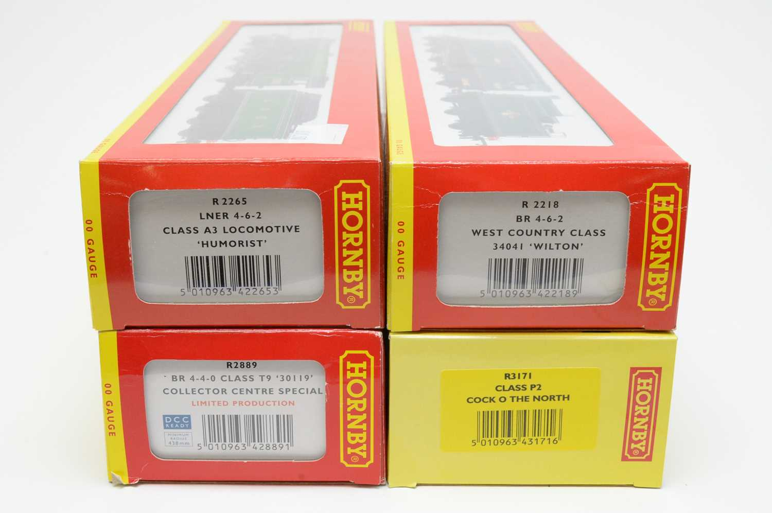 Four boxed Hornby 00-gauge locos. - Image 2 of 2