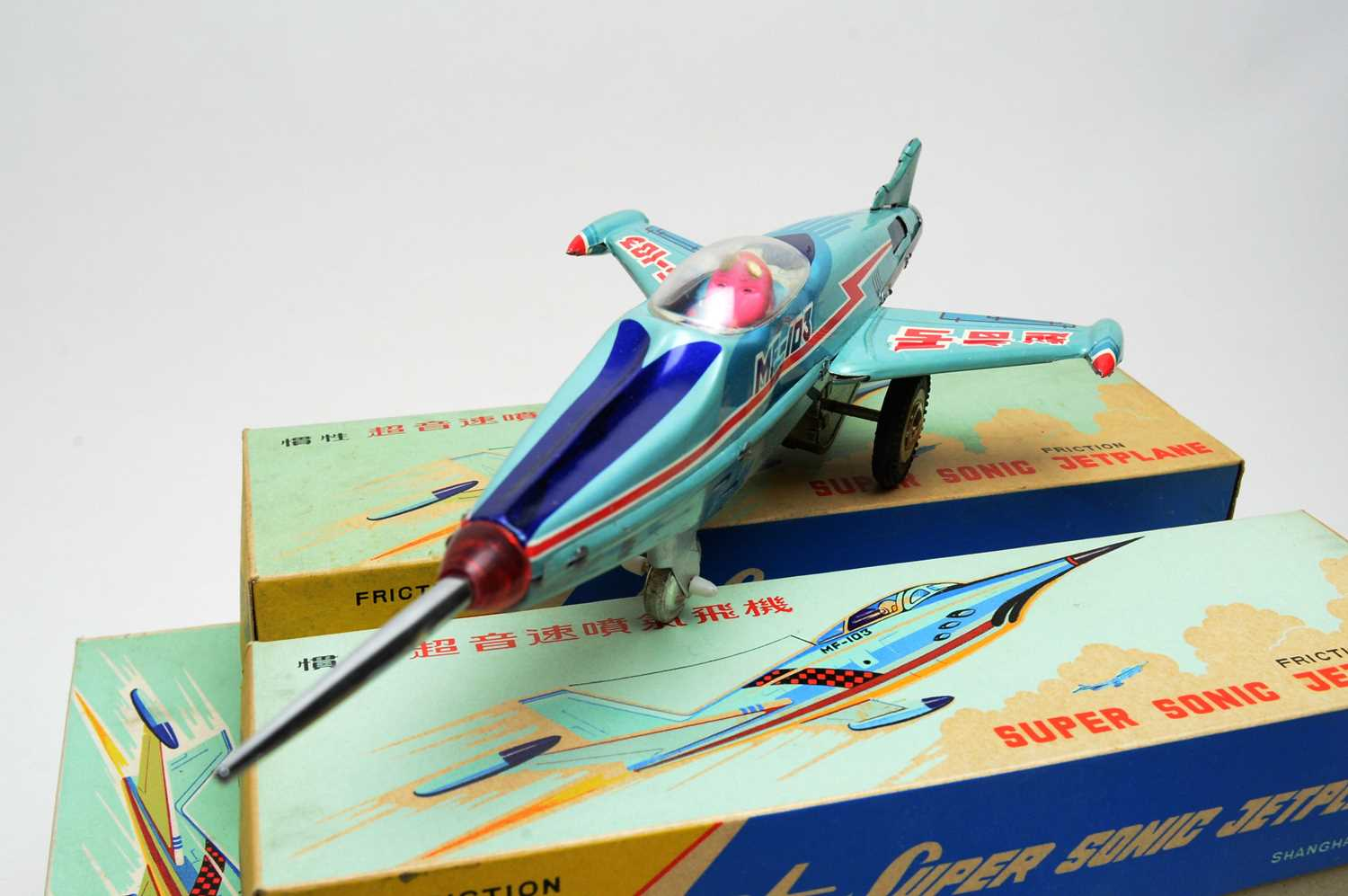 Twelve boxed Friction Supersonic Jetplane scale model aircraft. - Image 2 of 2