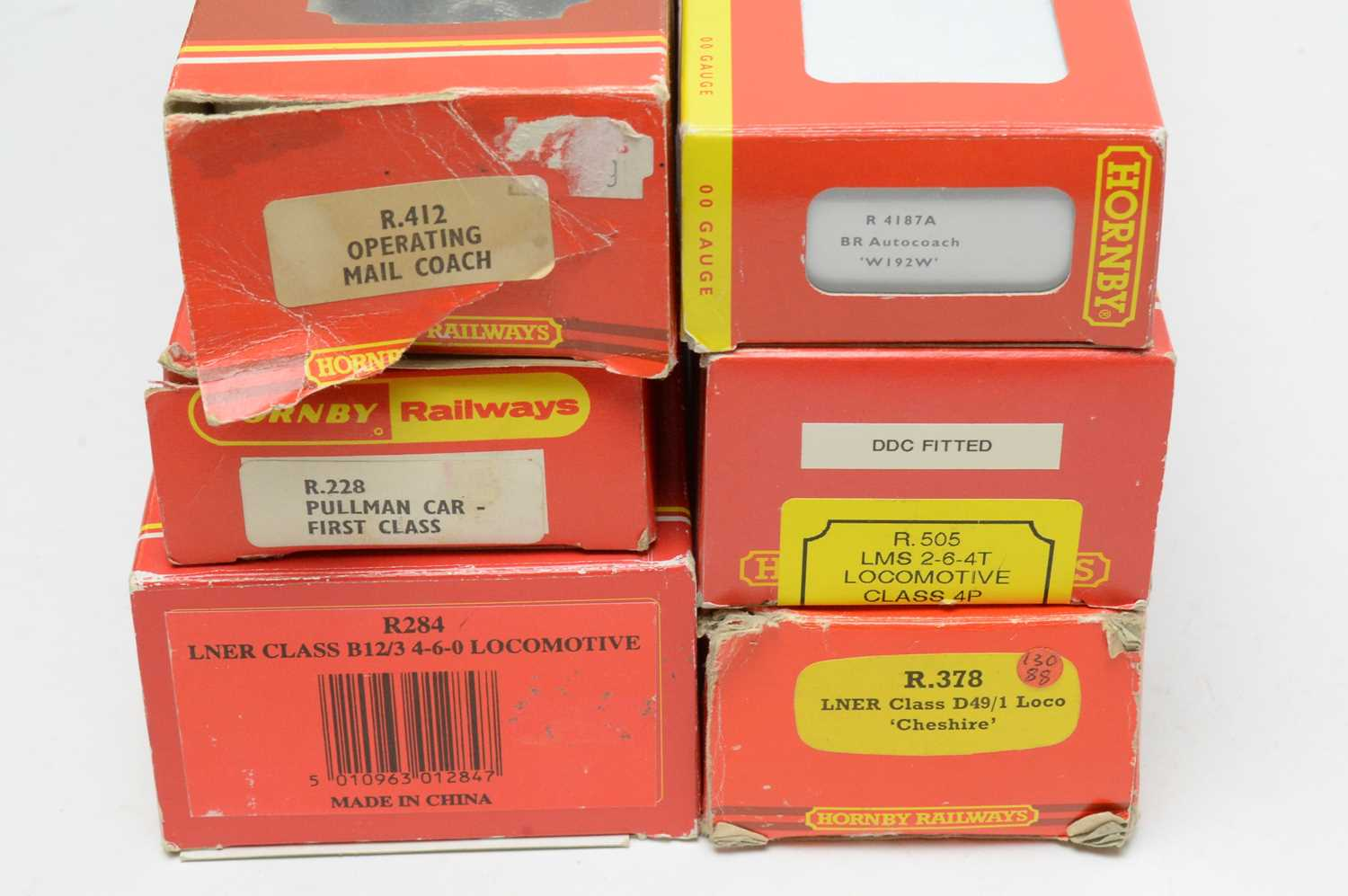 Six boxed Hornby Railways 00-gauge locomotives and carriages. - Image 2 of 2