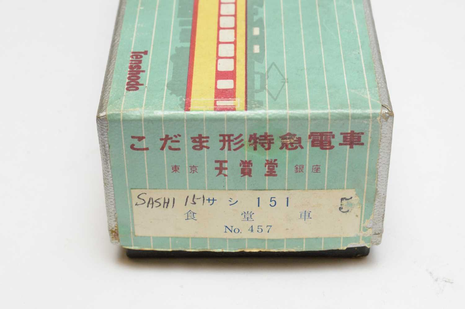 Boxed and unboxed Tenshodo Inter-City electric trains. - Image 3 of 3