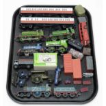 Unboxed trains, carriages and other rolling stock