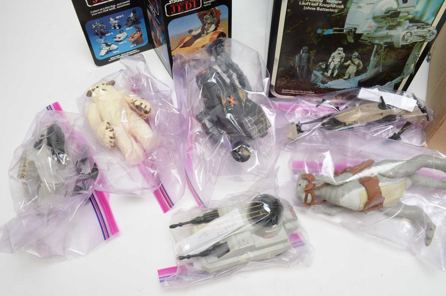 1970/80's boxed and unboxed Star Wars vehicles. - Image 2 of 5