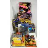 1990's boxed Batman action figures, vehicles, weapons and collectors' items.
