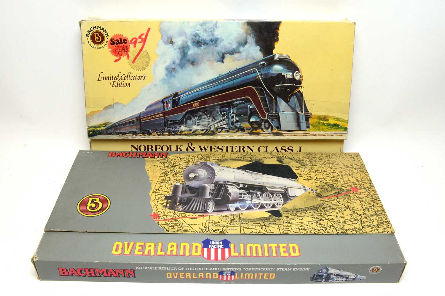 Two boxed Bachmann HO-gauge trains. - Image 4 of 4