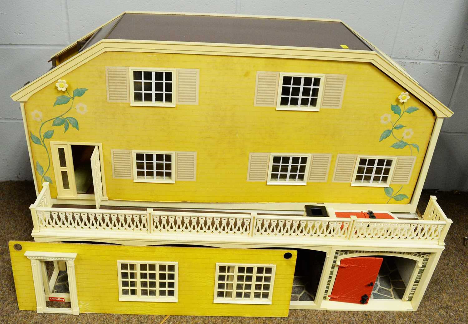 A 1960/70's Lundby doll's house.
