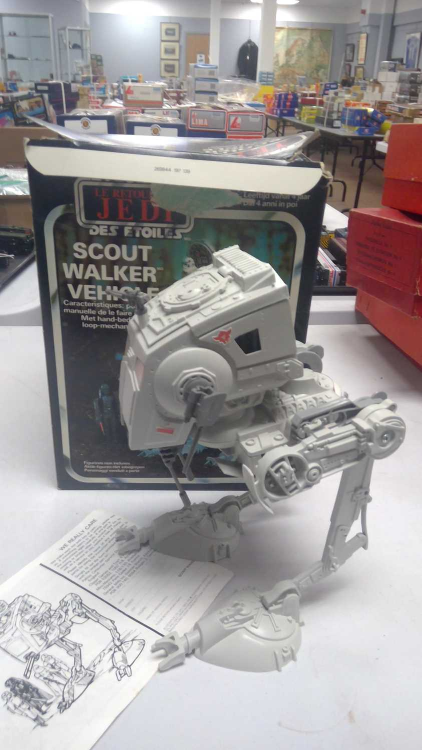 1970/80's boxed and unboxed Star Wars vehicles. - Image 4 of 5