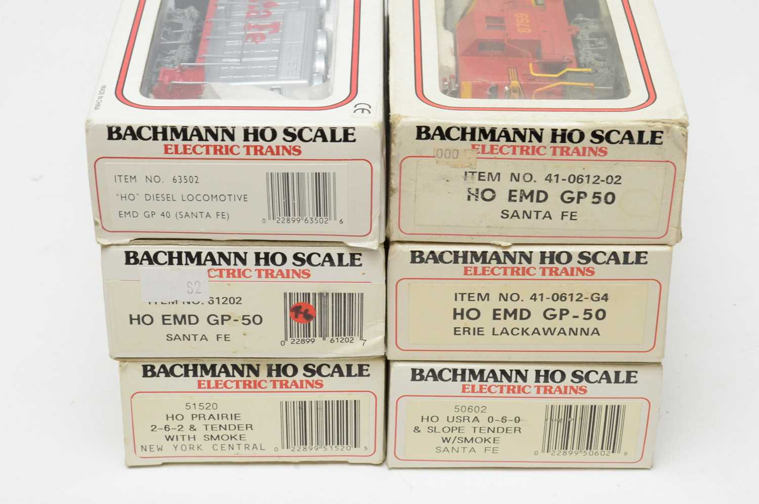 Six Bachmann HO-gauge boxed trains, Electric Trains Series. - Image 2 of 2
