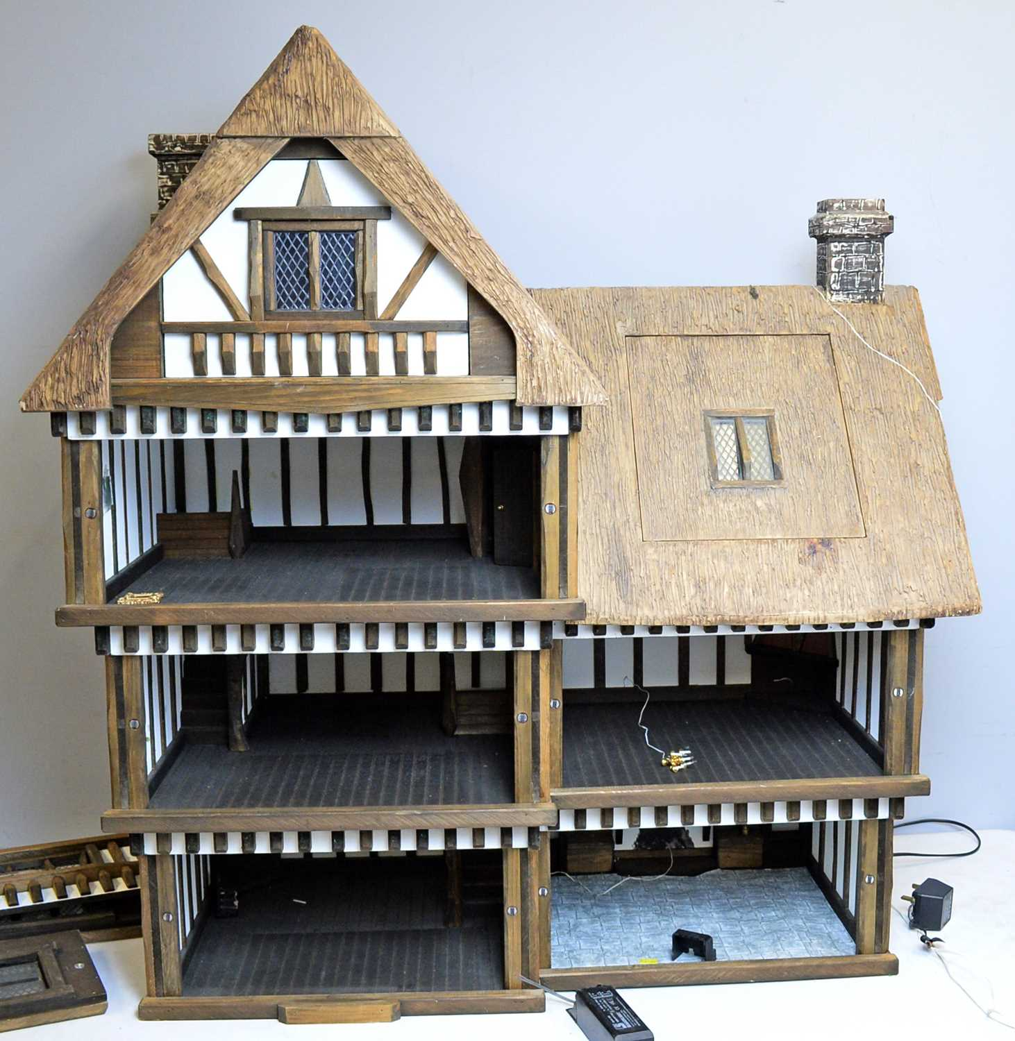 A Tudor-style doll's house by Robert Stubbs - Image 3 of 3