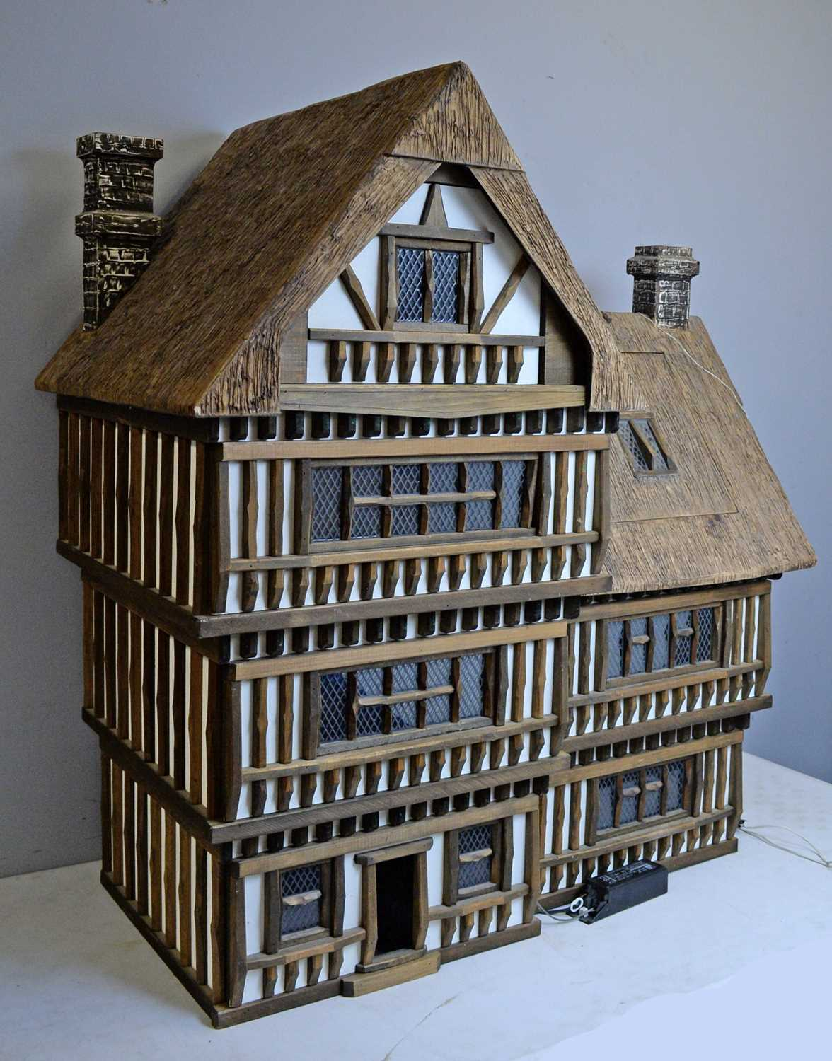 A Tudor-style doll's house by Robert Stubbs - Image 2 of 3
