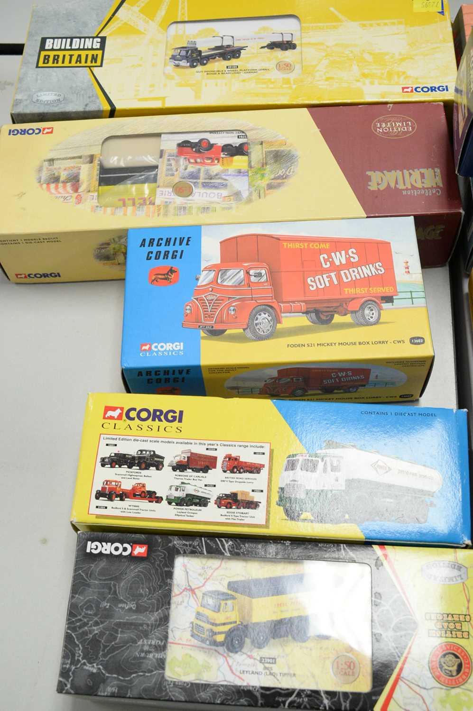 Boxed Corgi scale model vehicles. - Image 2 of 2