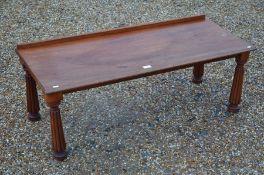 A 19th century mahogany stand