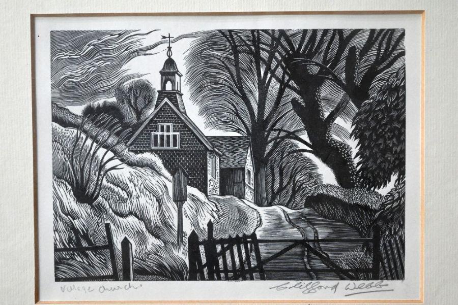 Clifford Webb (1895-1972) - wood engraving - Image 6 of 10