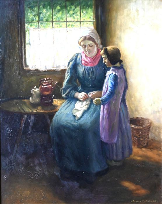 John Patrick Downie (1871-1945) - oil on board