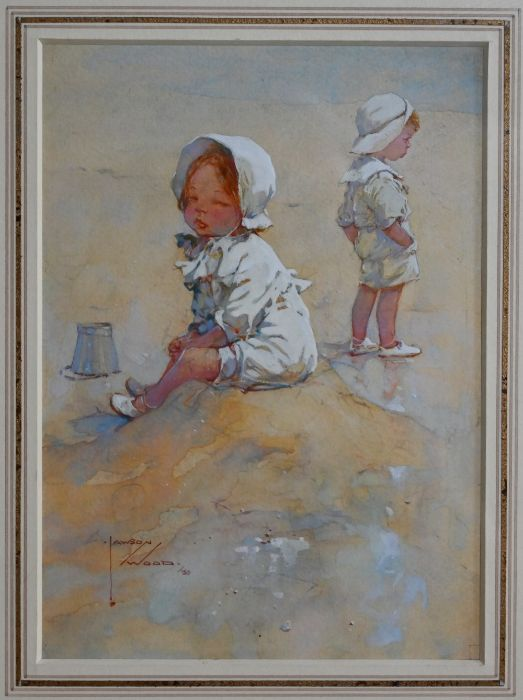 Lawson Wood RI (1878-1957) - watercolour