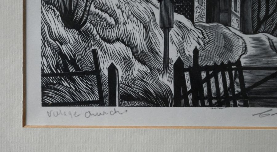 Clifford Webb (1895-1972) - wood engraving - Image 9 of 10