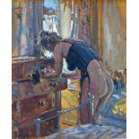 Ian Cryer (b 1959) - oil on canvas laid on board