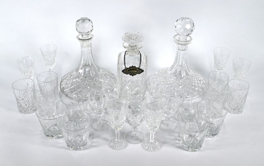 Collection of Waterford glassware