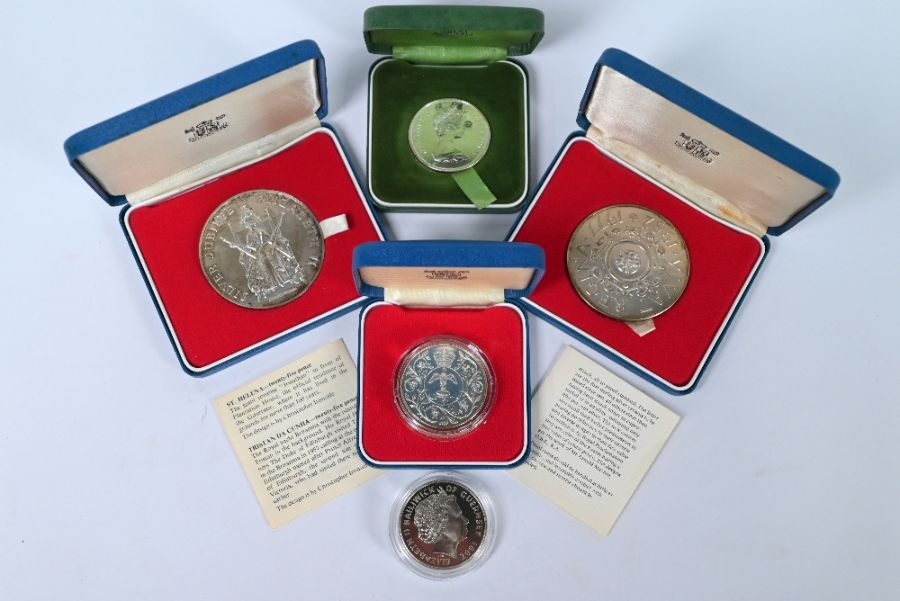 Various Royal Mint silver medallions and crowns - Image 5 of 5
