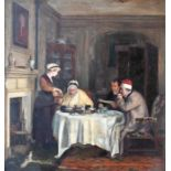 After David Wilkie - oil on board