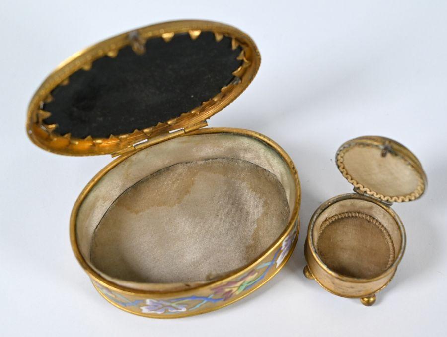 A 19th century Italian oval casket - Image 3 of 3