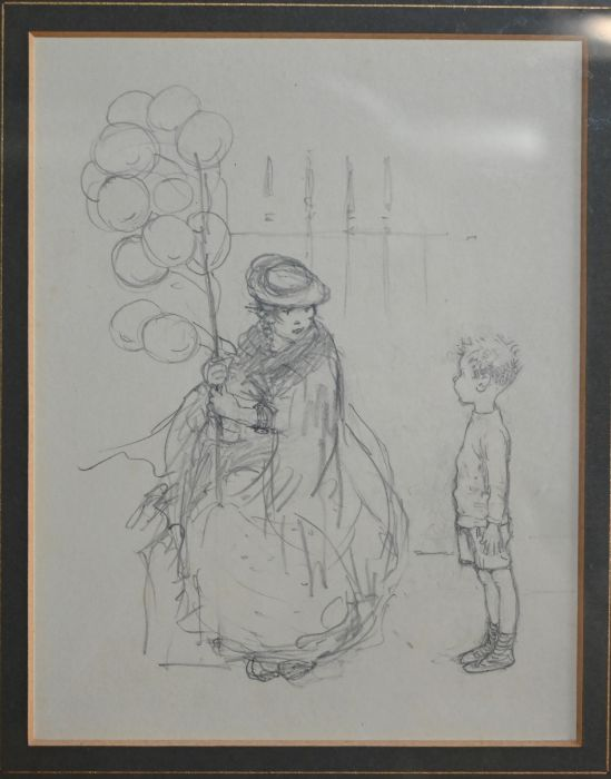 Kate Elizabeth Olver (1881-1960) - pencil - Image 5 of 5