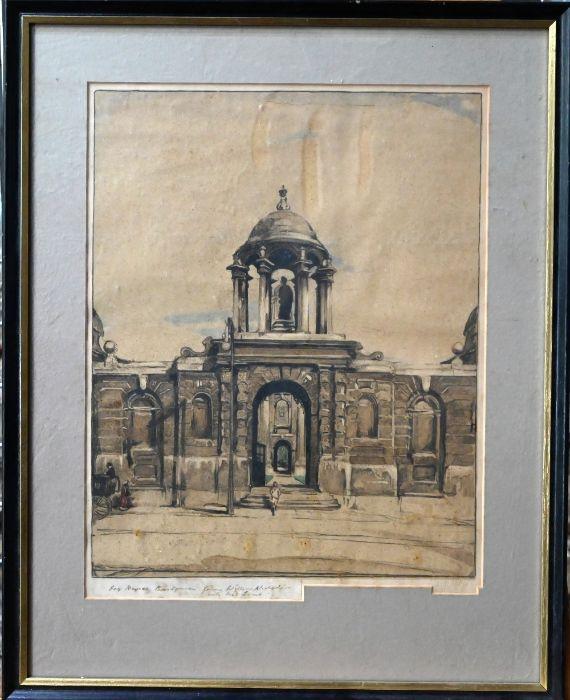 William Nicholson (1872-1949) - lithograph