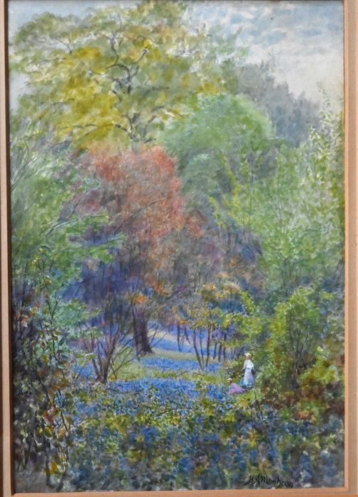 Helen Allingham (1848-1926) attrib - watercolour - Image 5 of 8