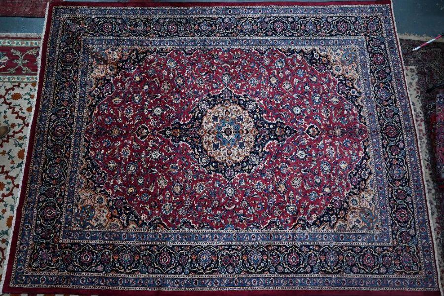 A Persian Meshed carpet