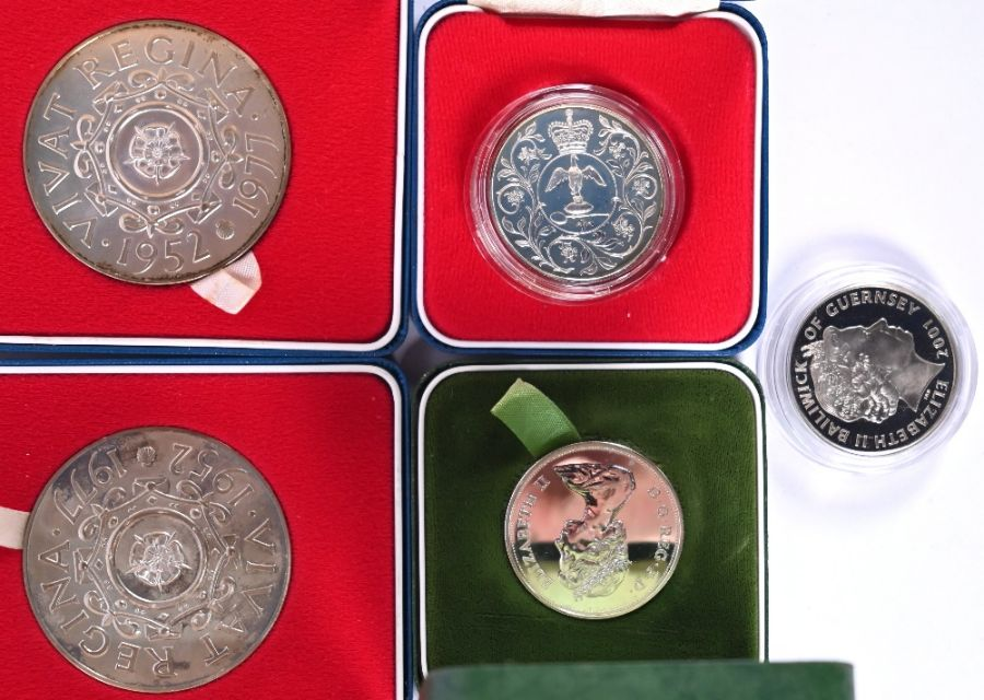 Various Royal Mint silver medallions and crowns - Image 3 of 5