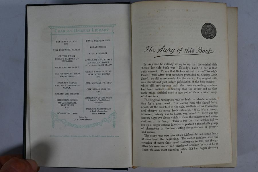 Charles Dickens Library volumes - Image 2 of 3