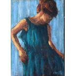 Damian Callan (b 1960) - oil on paper